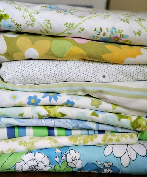 Vintage fabric choices bl&gr 1